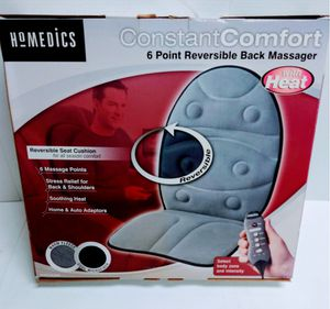 HOMEDICS CONSTANT COMFORT SIX POINT REVERSIBLE BACK MASSAGER - NEW for Sale in Wethersfield, CT