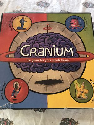 CRANIUM BOARD GAME GAME FOR WHOLE BRAIN for Sale in Newport Beach, CA
