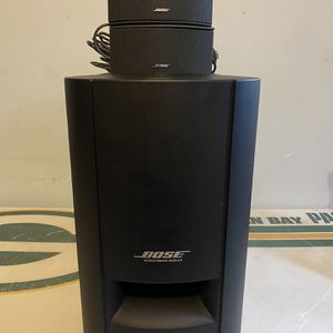 Bose CineMate GS Series II Digital Home Theater Speaker System. Includes Two Bose 321 Cinemate GS Series I II III Speakers with Cables and Bose CineMa for Sale in Milwaukee, WI