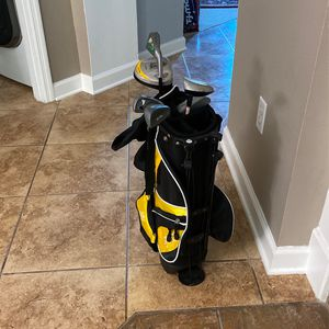 Youth Golf Clubs And Bag for Sale in Sanford, FL