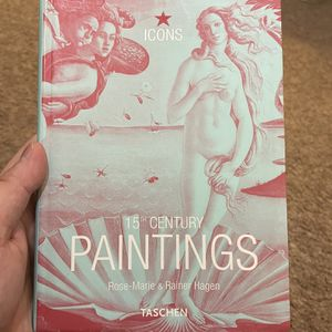 15th Century Paintings (TASCHEN Icons Series) for Sale in San Francisco, CA