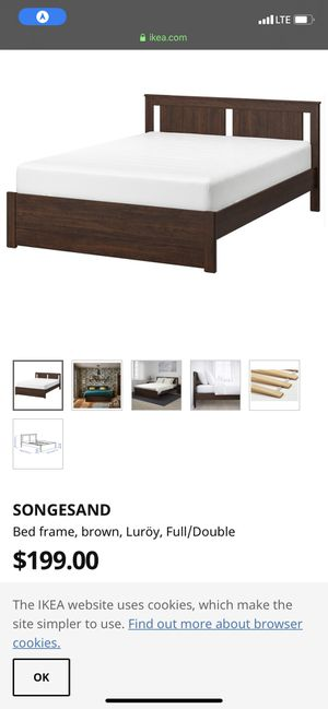 Ikea full size bed for Sale in Anaheim, CA