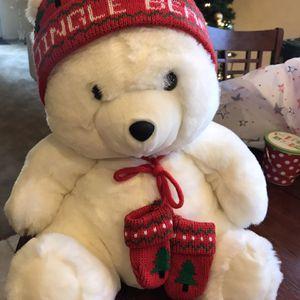 Beautiful Super Soft 16 Inch Tall Stuffed Holiday Bear for Sale in Gilbert, AZ