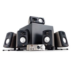 Klipsch Pro 5.1 Channel Surround Sound Pro media with amplifier for Sale in Chicago, IL