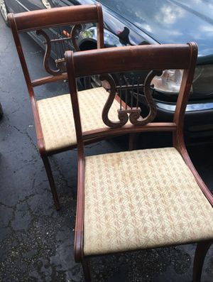 Drexel Antique Harp Dining Chairs (5) for Sale in Fort Lauderdale, FL