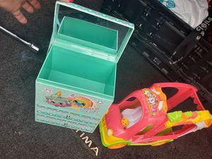 Shopkins Jewlery Box and Car for Sale in Murfreesboro, TN