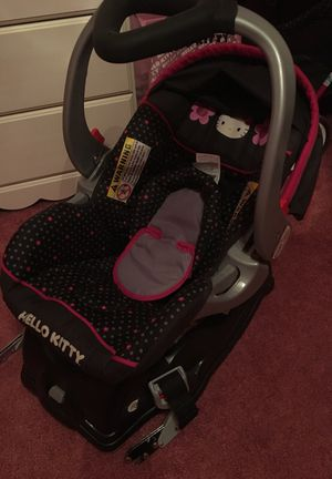 Hello Kitty Car seat & Base for Sale in Hyattsville, MD