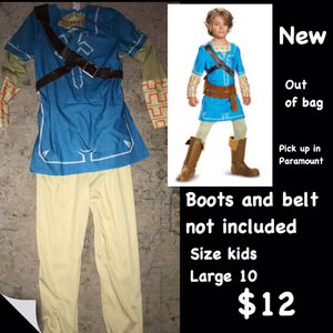 Zelda link costume for Sale in Long Beach, CA