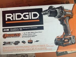 RIDGID 18-Volt Lithium-Ion Cordless New for Sale in Tacoma, WA