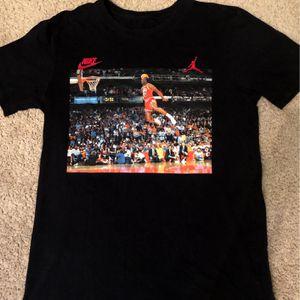 Nike Air Jordan Black Small Shirt for Sale in Stratford, CT