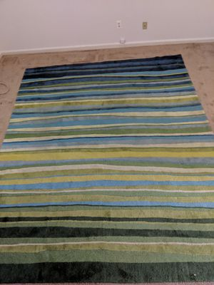 Rug - Large blue and green area rug for Sale in Alexandria, VA