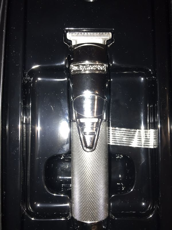 Babyliss pro silver trimmer
