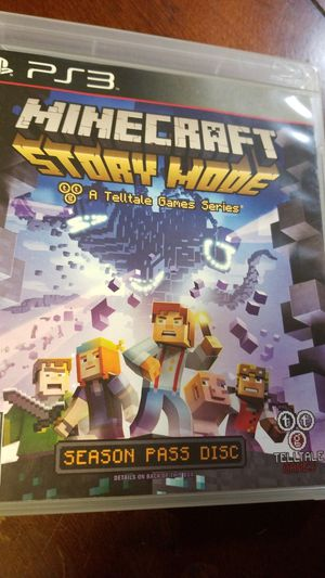 Minecraft story mode PlayStation 3 for Sale in Winter Haven, FL