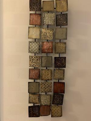 Metallic Wall Panel Decor for Sale in Alexandria, VA