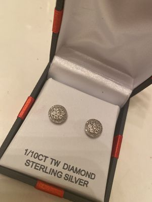 Diamond earrings for Sale in Princeton, TX