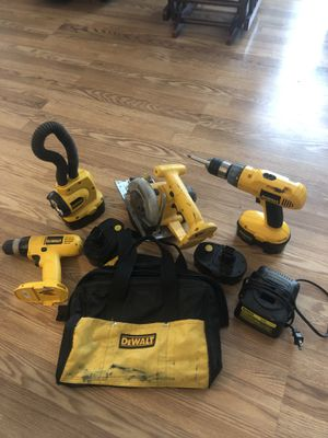 Dewalt 18v Cordless Tool Set for Sale in Oklahoma City, OK