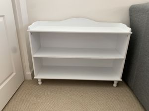 White bookcase book shelf nursery girl boy room for Sale in Escondido, CA