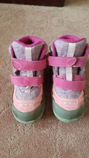 little girl's waterproof winter boots sz 12 for Sale in Chino, CA