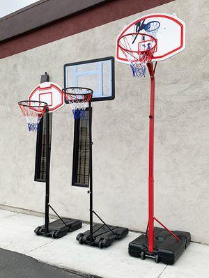 New Kids Junior Basketball Hoop Adjustable Height (3 Sizes: Small $45, Medium $65, Large $75) for Sale in El Monte, CA
