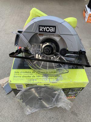 Ryobi 13 Amp Corded 7-1/4 in. Circular Saw for Sale in Bellflower, CA