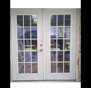 64x80 Solid wood frame Back door $$ for Sale in Houston, TX