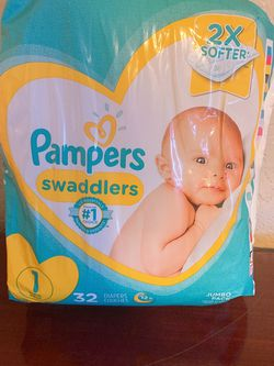 Pampers Size 1 for Sale in Watsonville,  CA