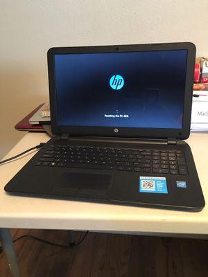 HP 15 series Notebook (windows 10) for Sale in St. Petersburg, FL