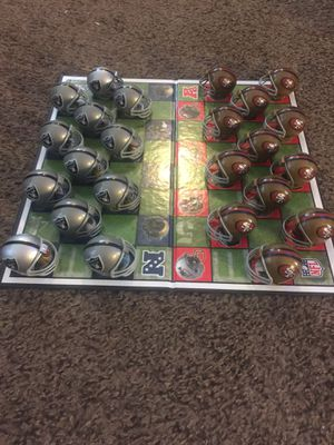 49ers vs Raiders Checkers for Sale in Gilroy, CA