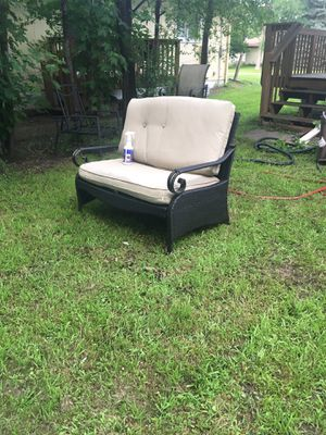 Patio Furnature, wicker, nice, one day only for Sale in New Hope, MN