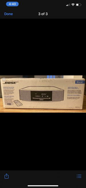 Bose wave music system IV for Sale in San Francisco, CA