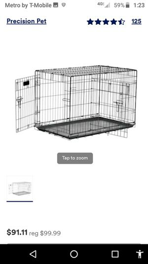 Brand new in box dog crate two-door 36-in I paid $99 for Sale in Spring Hill, FL