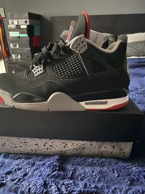 Jordan 4 bred size 9.5 for Sale in Tampa, FL