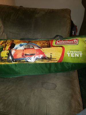 Coleman for man tent for Sale in Benson, NC