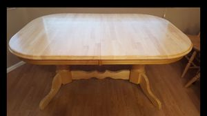 Solid Pine Table & Chairs for Sale in Kirkland, WA