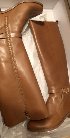 Michael Kors leather boots for Sale in Nashville, TN