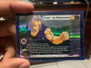 Dragonball Z Holo Trunks, The Weaponmaster for Sale in Miami, FL
