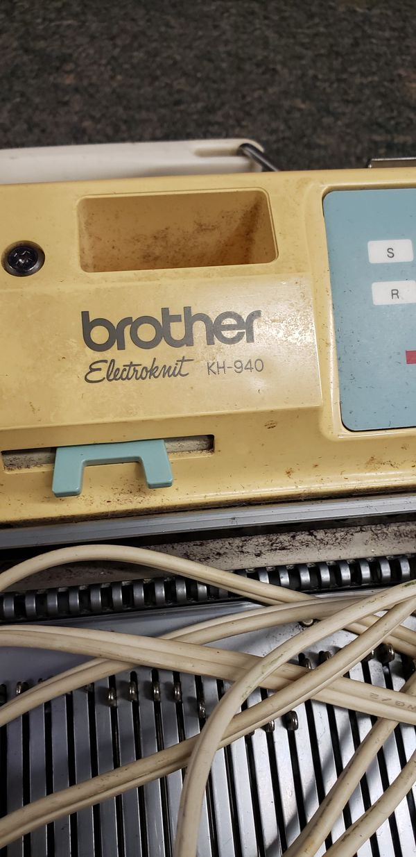 Brother Knitting Machine Electroknit KH940 Kh-940