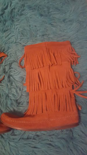 Fringe boots for Sale in NEW PRT RCHY, FL