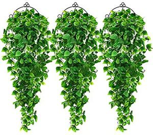 3pcs Artificial Hanging Plants 3.6ft Fake Ivy Vine for Sale in Los Angeles, CA