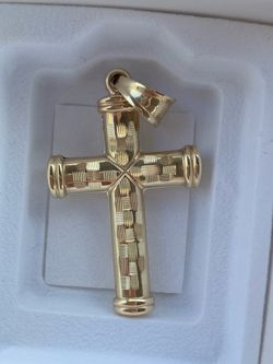 Gold Charm Cross for Sale in Columbus,  OH