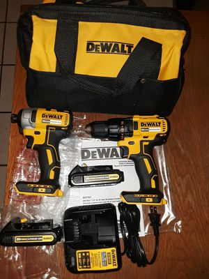 Dewalt Drill Brushless kit 20V for Sale in Cerritos, CA