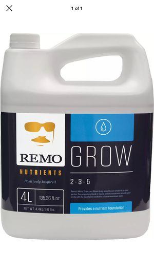 Remo Nutrients. Grow. for Sale in Portland, ME