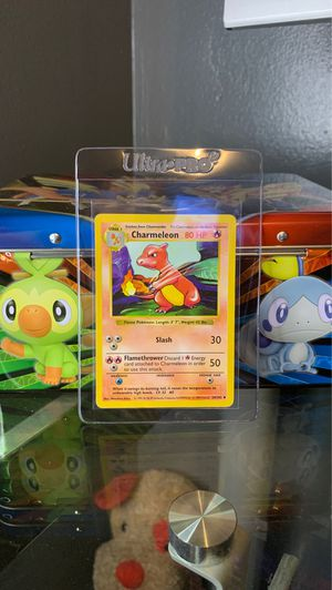 1999 Pokemon Shadowless Base Set Charmeleon Card 24/102 - for Sale in Los Angeles, CA