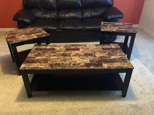 Coffee Table and Two End Tables. for Sale in Atlanta, GA