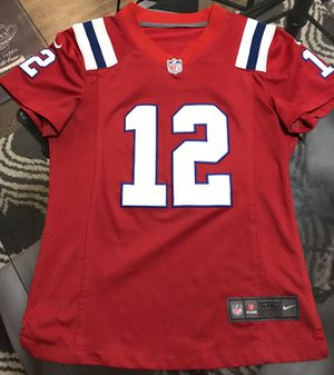 Official Patriots women's throw back NFL jersey - see my other stuff! for Sale in Denver, CO