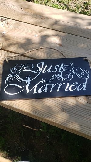 Wedding sign for Sale in Austin, TX