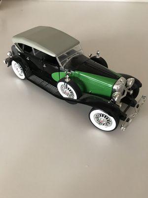 1934 Duesenberg Model J Black/Green 1/18 Diecast Model Car by Signature Models for Sale in Henderson, NV