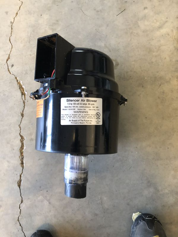 Silencer 240v new never used air blower pool/spa