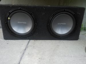 """Kenwood 2 12"""" subwoofers for Sale in Long Beach, CA"""