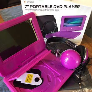 ####Dvd Player / Matching PINK Headphones #### for Sale in Miami, FL